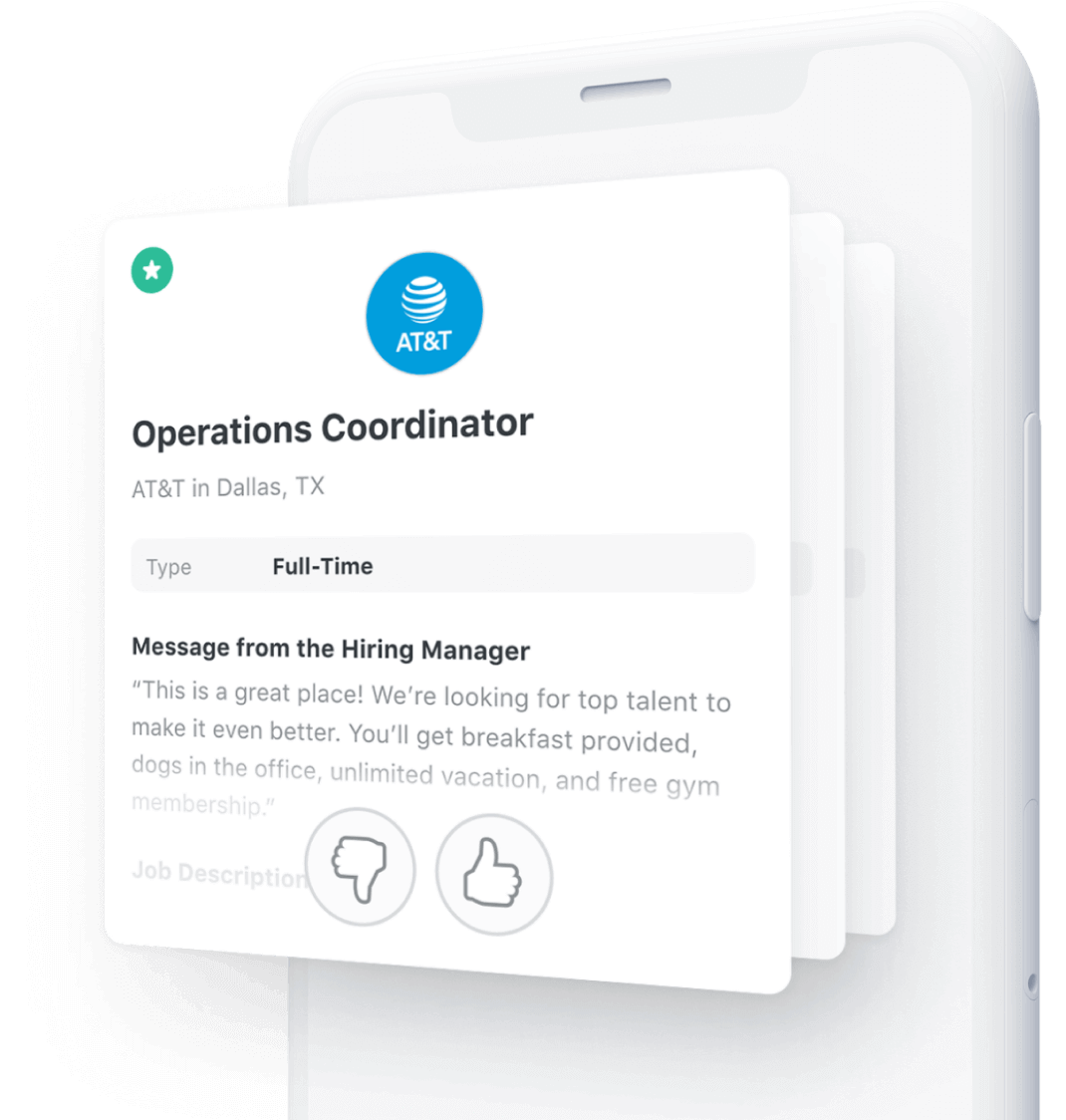 Details of job, Operation Coordinator for AT&T