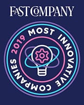 Fast Company 2019 Most Innovative Companies Logo