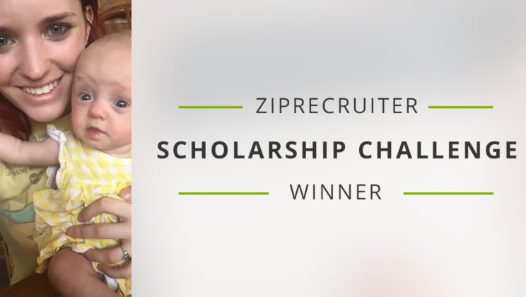 Congratulations to our Scholarship Challenge Winner!