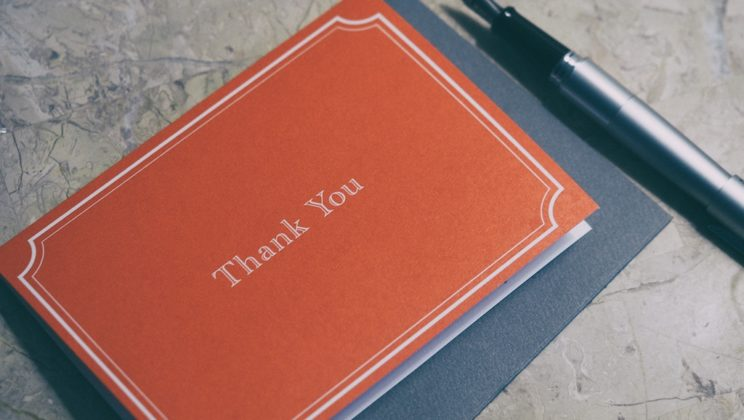 Beyond the Post-Interview Thank You Note