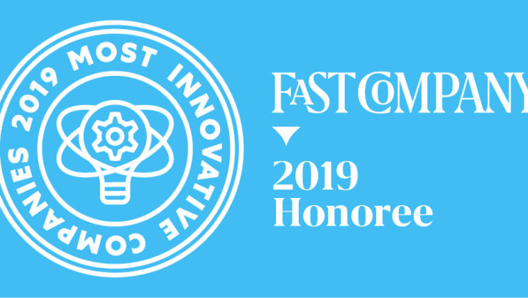 ZipRecruiter Named One of The World's Most Innovative Companies in 2019 by Fast Company
