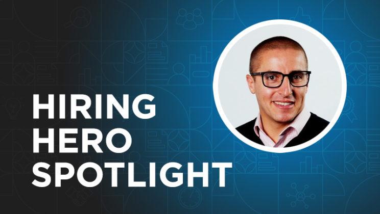 Meet Simon De Matteo, Senior Director of Talent Acquisition at Spin Master