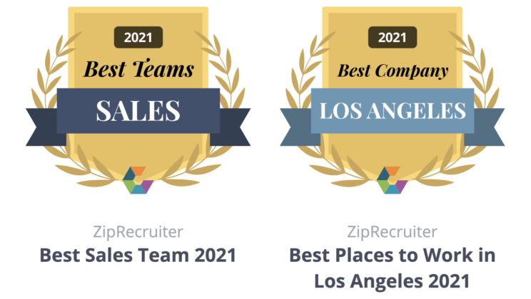 ZipRecruiter Wins Two 2021 Comparably Awards