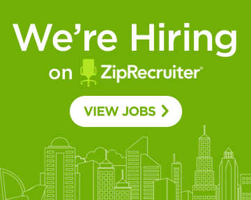 We're Hiring on ZipRecruiter