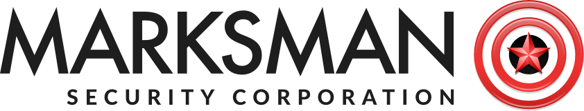 Marksman Security Corporation's logo