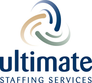 Ultimate Staffing's logo