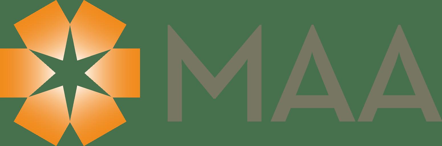 MAA's logo