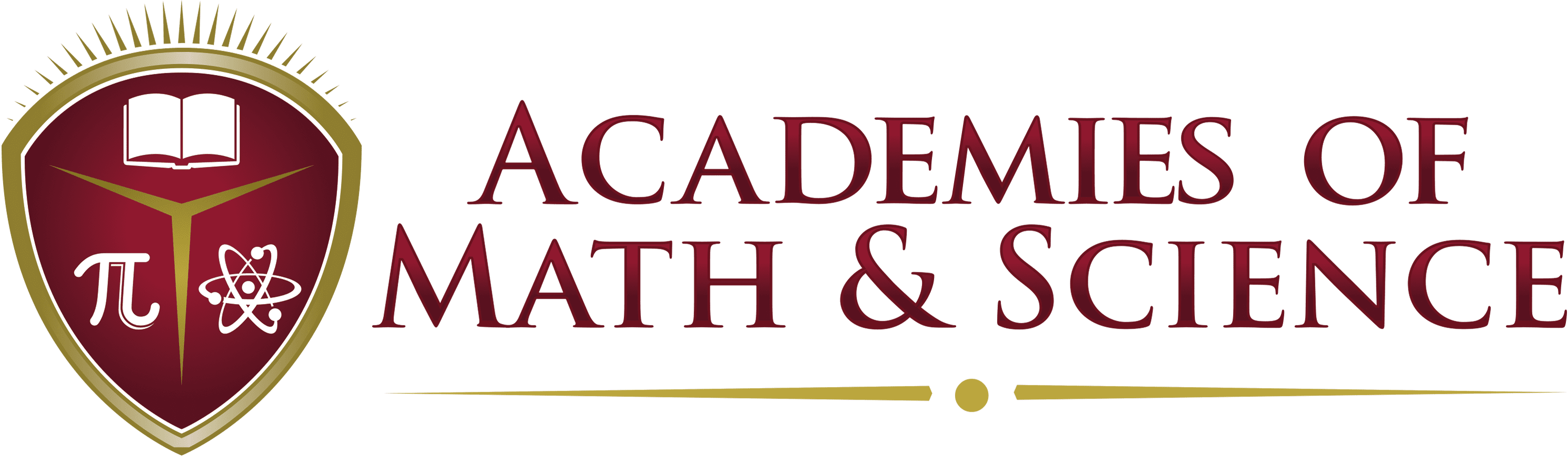 Academies of Math and Science's logo