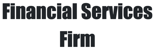 Financial Services Firm's logo