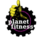 Planet Fitness's logo