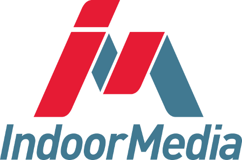 IndoorMedia's logo
