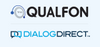 Dialog Direct a Qualfon Company's Logo