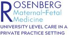 Rosenberg Maternal Fetal Medicine