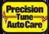 Precision Tune Auto Care's Logo