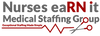 Nurses eaRN It Medical Staffing Group's Logo